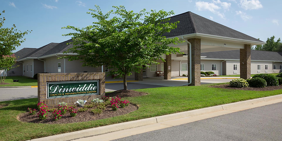 Dinwiddie Health Rehab Center Rehabilitation And Long Term Care